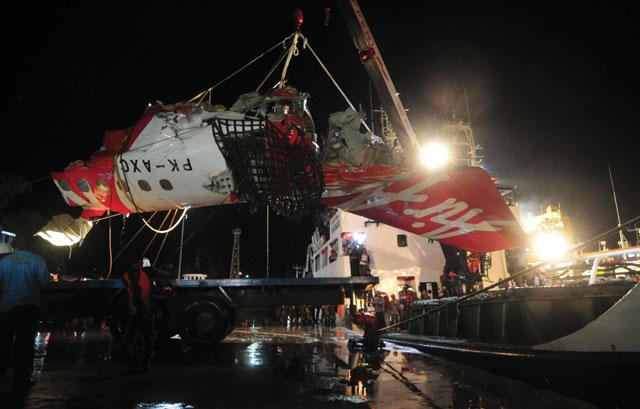 AirAsia A320 wreckage