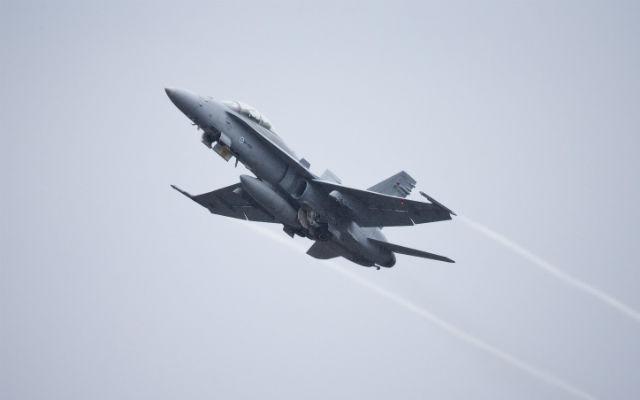 Finnish F-18 - Kaisa Siren/REX Shutterstock