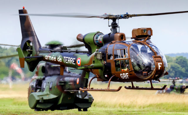 French army SA342 - AirTeamImages