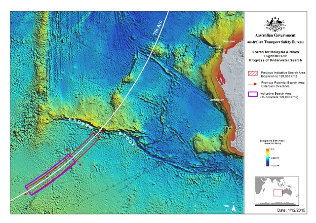 MH370 search updated