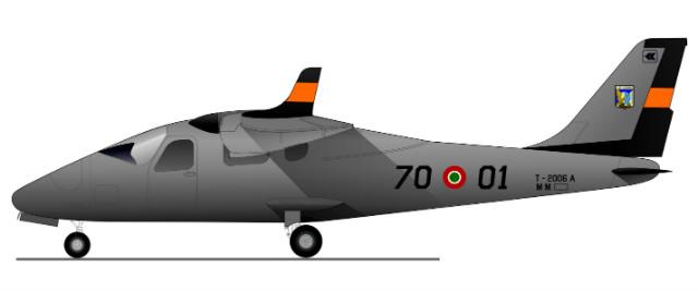 P2006T Italian air force - Tecnam