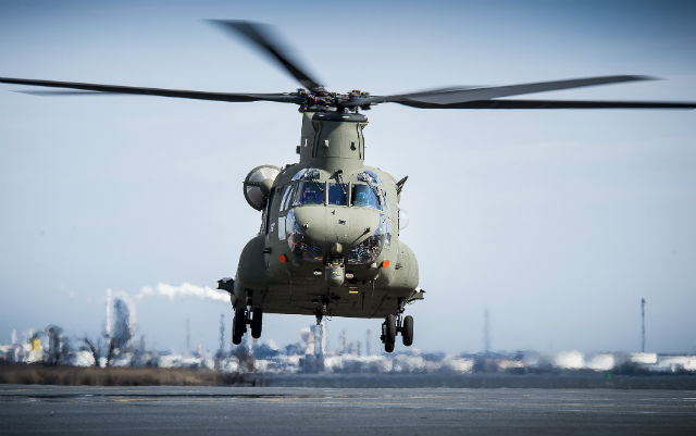 UK Chinook HC6 - Boeing