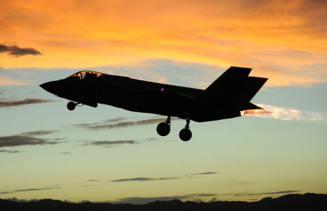 F-35A sunset - US Air Force