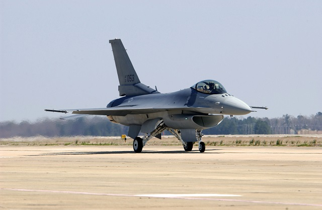 Last USAF F-16