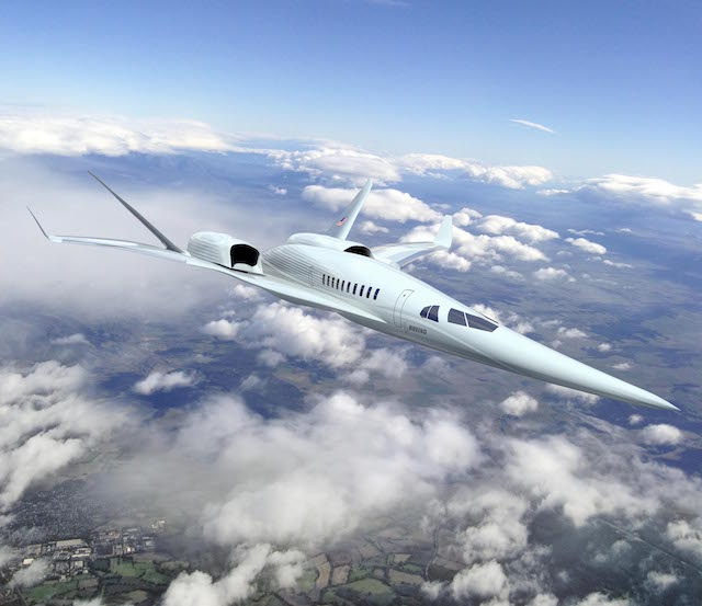 Boeing supersonic concept. 640px. NASA.