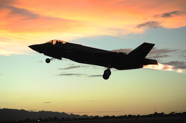 F-35 at Luke AFB