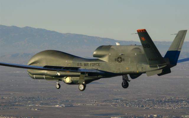 Global Hawk surrogate SYERS-2 test