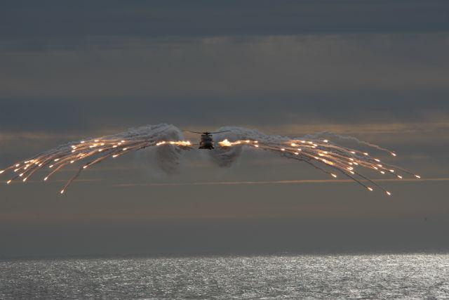 RNoAF NH90 flares