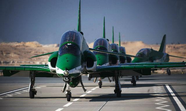 Saudi Hawks - Bahrain International Air Show