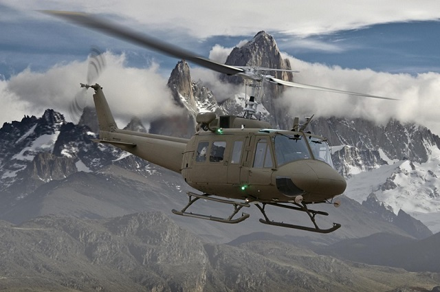 Bell Helicopter Huey II. Bell image