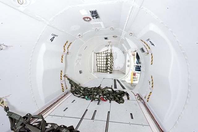 Bombardier Q400 cargo-combi (cargo)