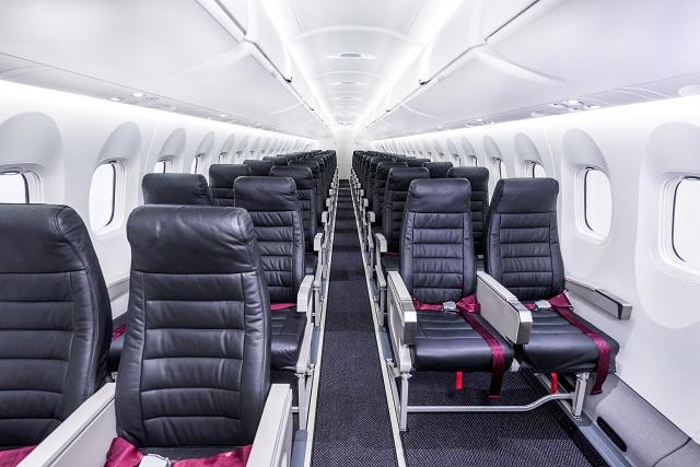 Bombardier Q400 cargo-combi (seats) (new)