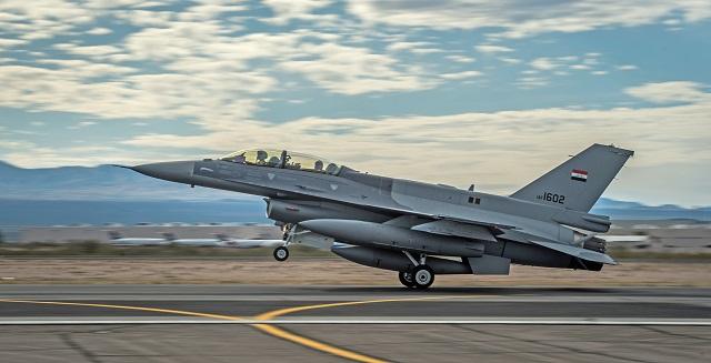 Iraqi F-16IQ. US Air Force