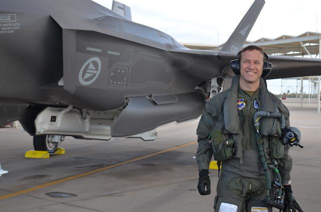 Norwegian F-35 pilot