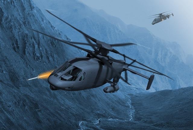 Sikorsky S-97 Raider. Lockheed Martin