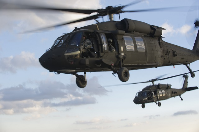Sikorsky UH-60M Black Hawk. USAF