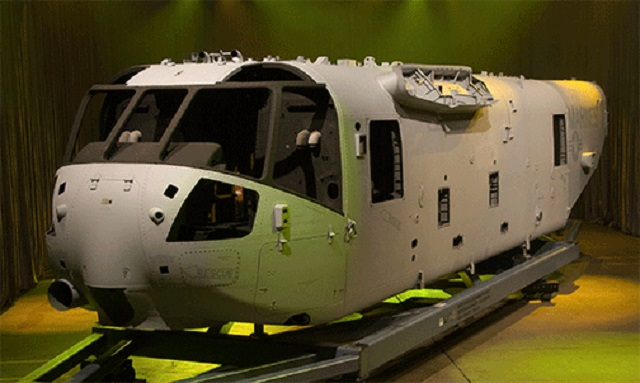 Spirit AeroSystems builds Sikorsky CH-53K 'King St