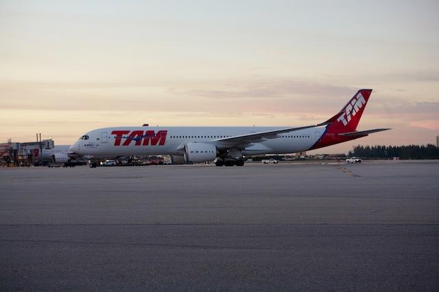 TAM A350 MIA