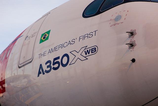 TAM first A350