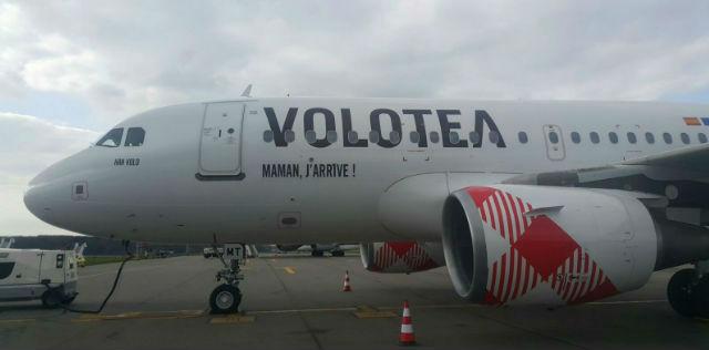 Volotea A319 fixed