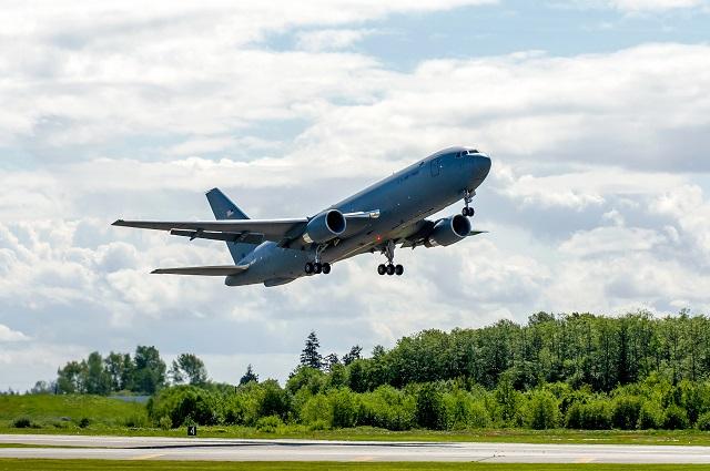 767-2C EMD3FirstFlight #1067 Tanker 466. Boeing Im