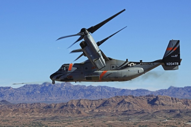 Bell-Boeing V-22 Osprey Weapons. Textron image