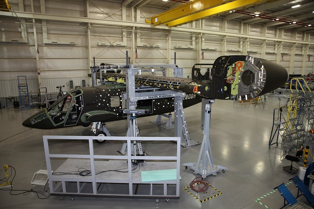Bell V-280 Valor wing mating with fuselage. Bell H
