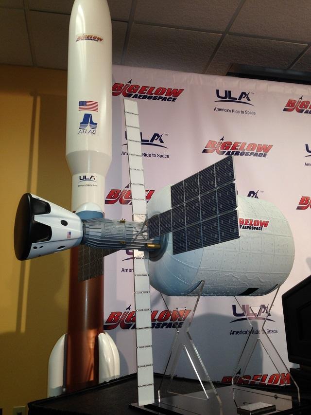 Bigelow Aerospace B330 and ULA