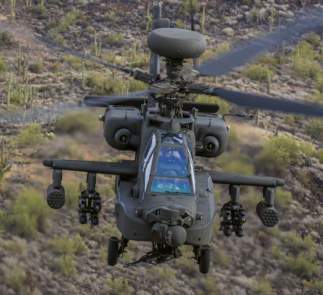 Boeing AH-64E Apache. Boeing image
