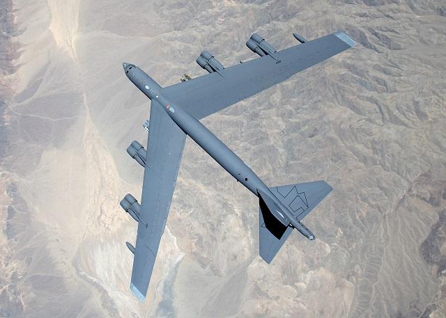 Boeing B-52 Bomber. USAF image