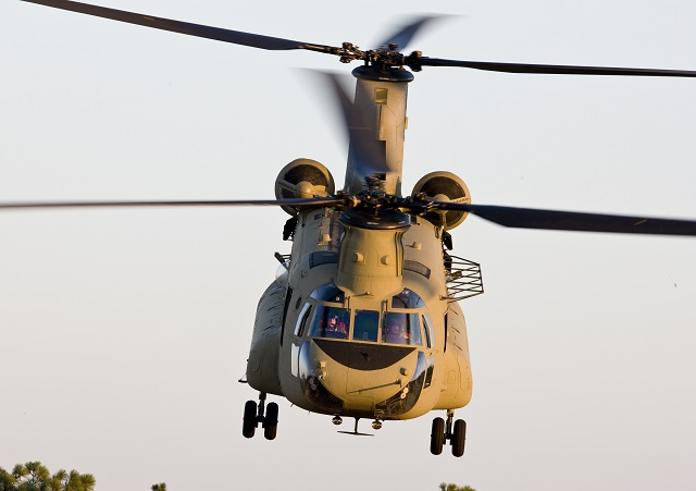 Boeing CH-47F Chinook. Boeing Image
