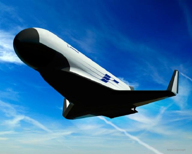 Boeing's DARPA XS-1 spaceplane design