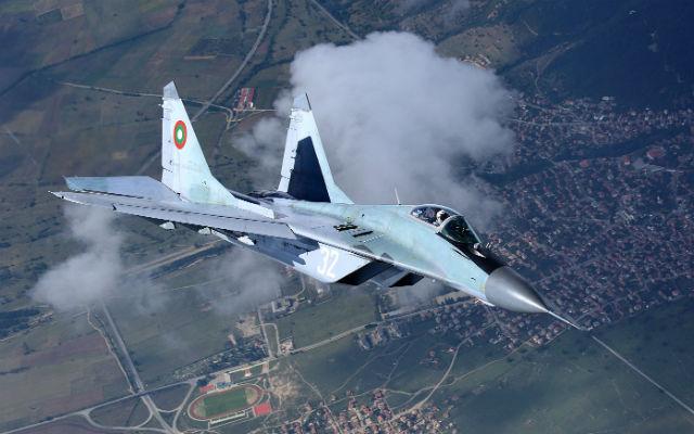 Bulgarian MiG-29 - Alexander Mladenov