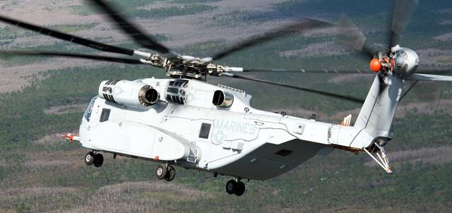 CH-53K. Sikorsky
