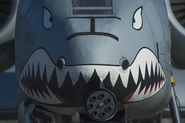 Fairchild Republic A-10 Warthog. USAF image