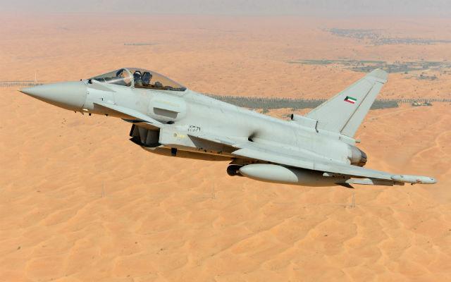 Kuwait Typhoon mock-up - Eurofighter