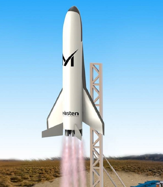 Masten Space Systems selected by DARPA to bring ou