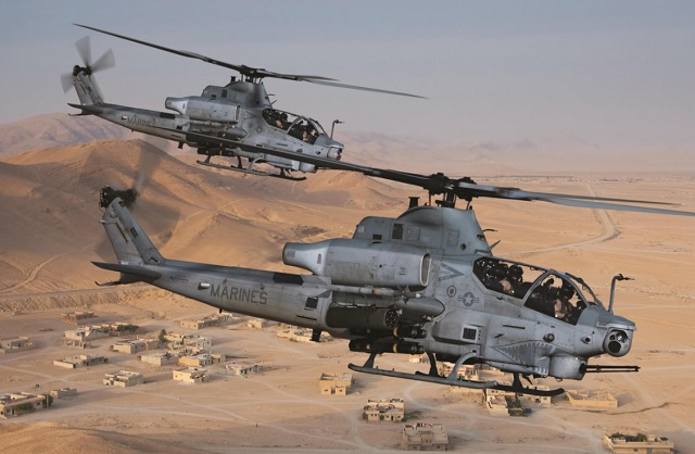 Bell Helicopter AH-1Z Viper and UH-1Y Yankee. Bell