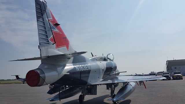 Draken Douglas A-4 Skyhawk. Credit Chris Stellwag