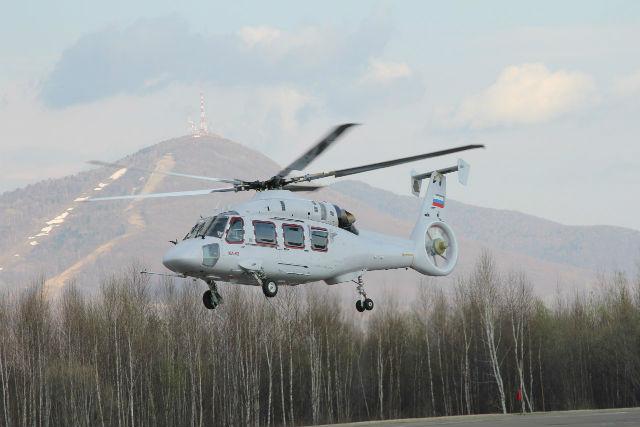 Ka-62 first flight