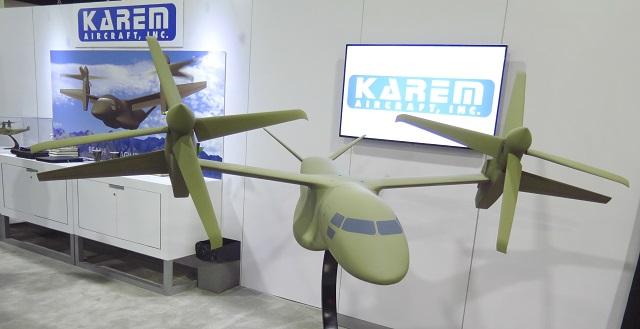 Karem Aircraft UTR36. James Drew/Flight Internatio