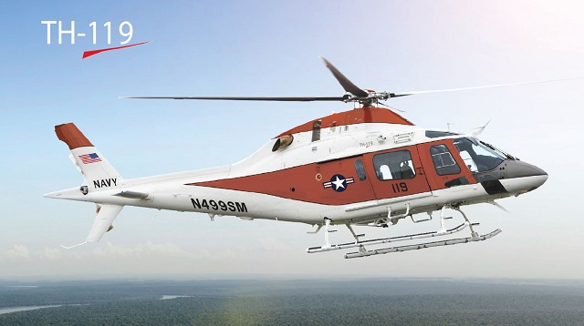 Leonardo-Finmeccanica's helicopter division has pr