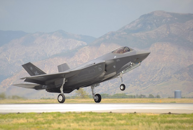 Lockheed Martin F-35 Joint Strike Fighter Hill Air