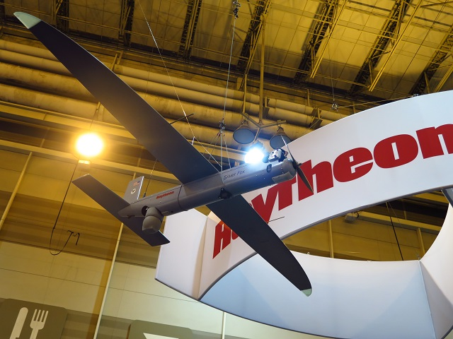 Raytheon Silver Fox UAS at AUVSI 2016. By James Dr