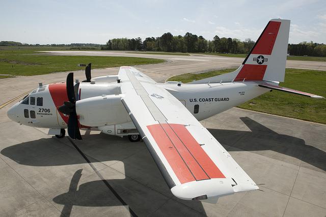US Coast Guard HC-27J. USCG