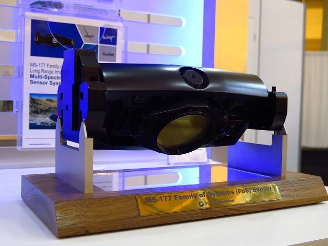 UTAS MS-177 Family of Systems Sensor at AUVSI. Jam