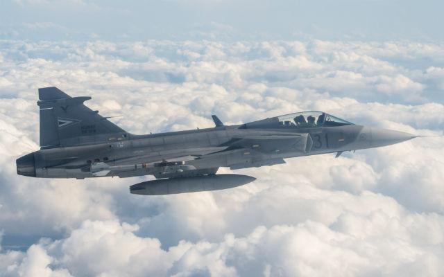 Hungarian Gripen - Crown Copyright