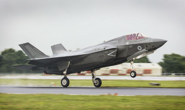 UK F-35B - Crown Copyright