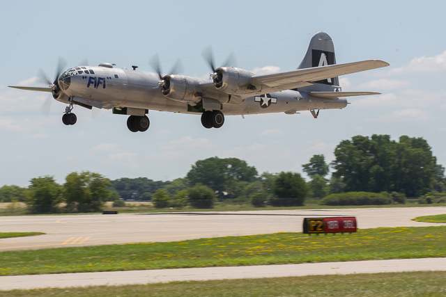 B-29 FiFi take-off