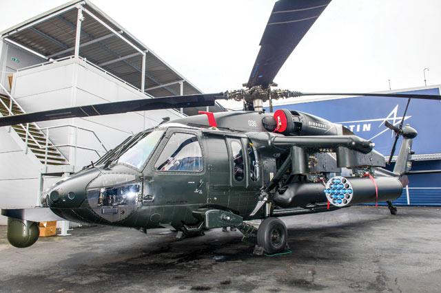 Black Hawk Farnborough